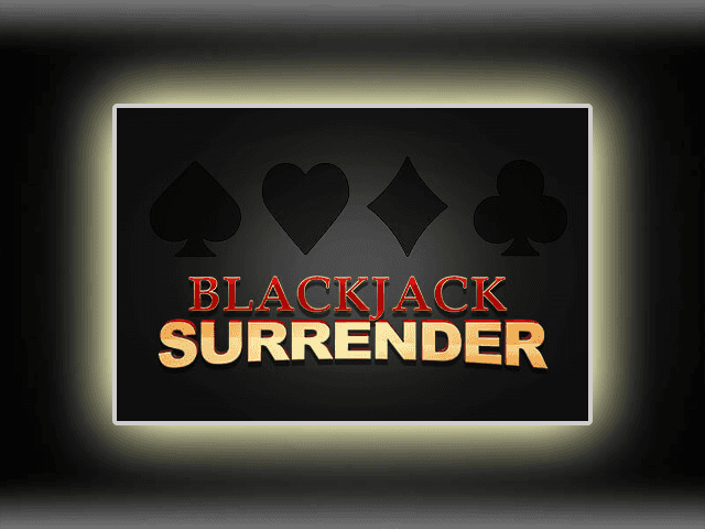 Blackjack Surrender